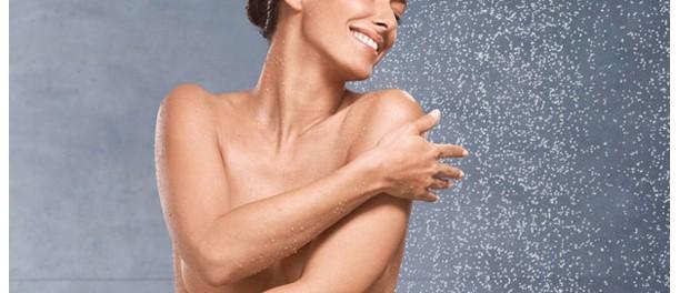 Nivea bajo la ducha